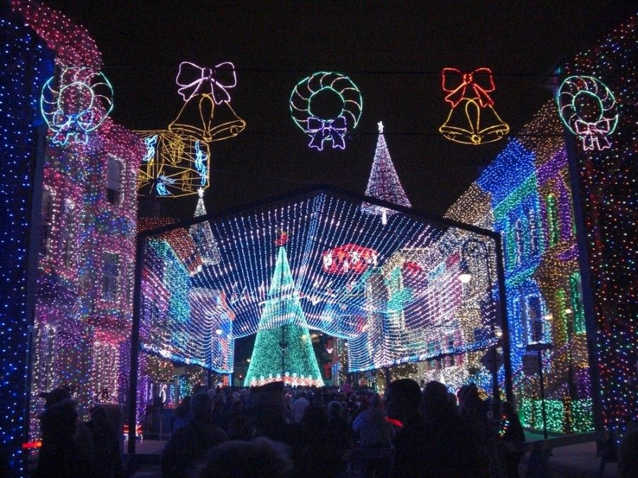 disney hollywood studios christmas picture gallery - Hollywood Studios Christmas Lights