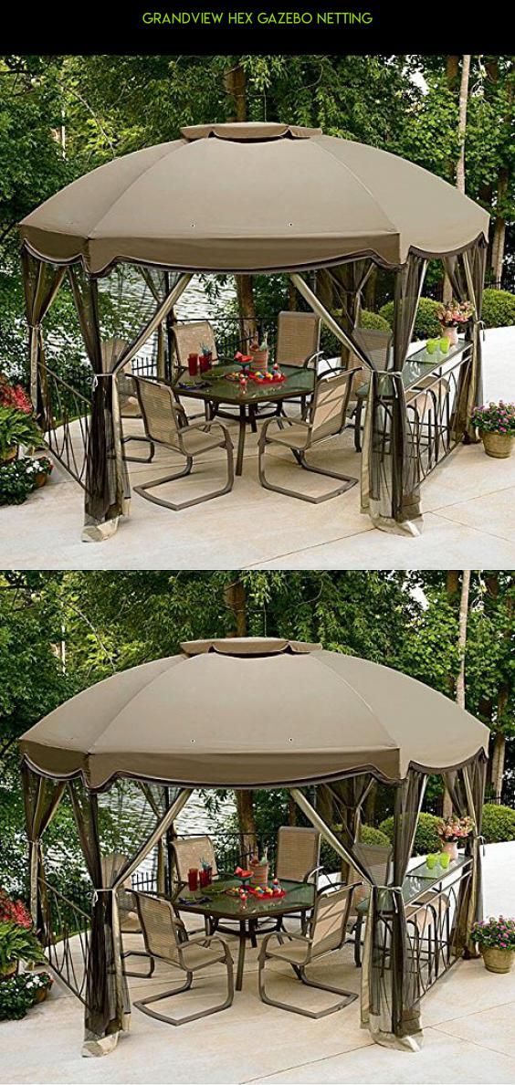 Grandview Hex Gazebo Netting #furniture #gadgets #drone #tech #plans  #shopping