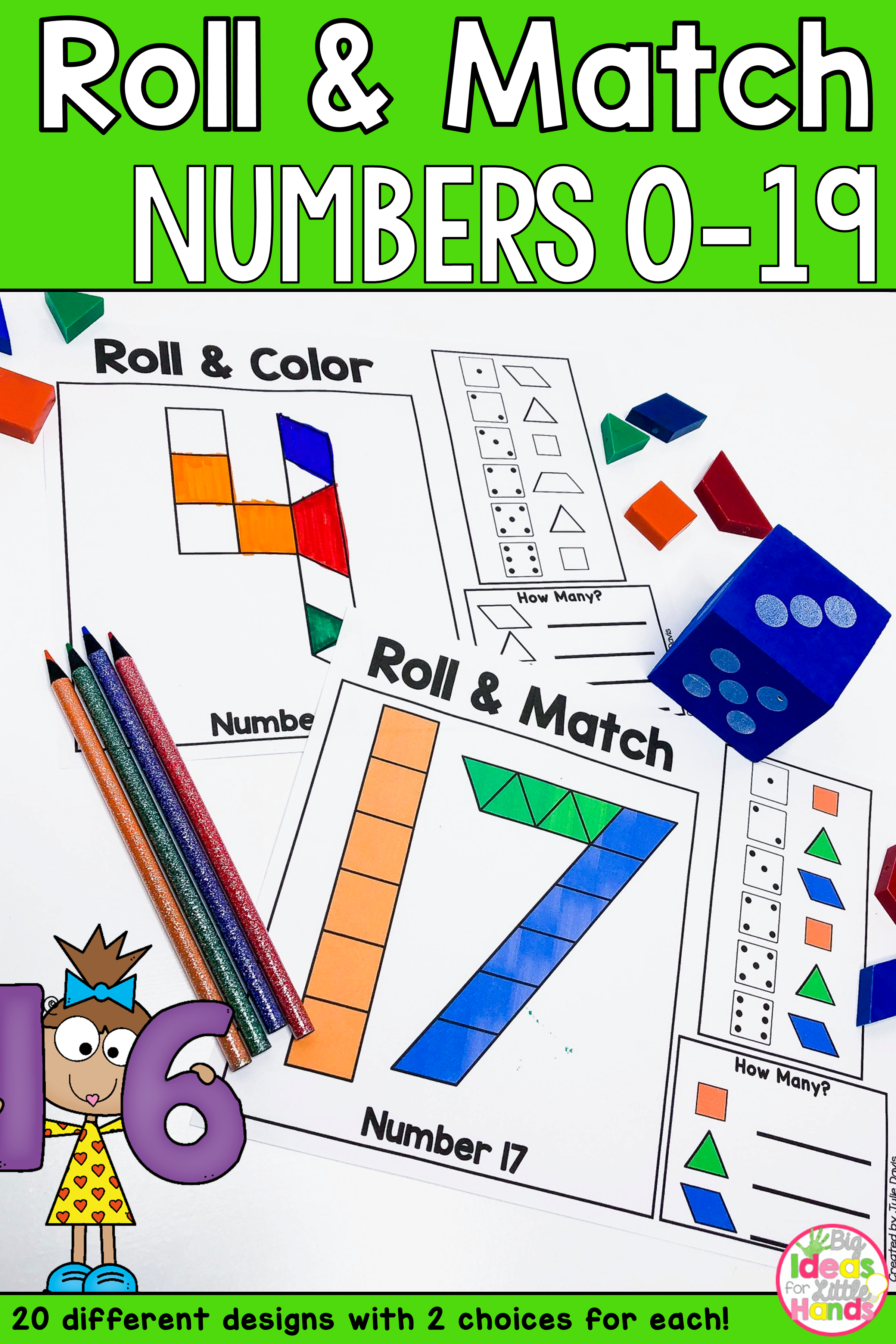 Numbers Pattern Blocks