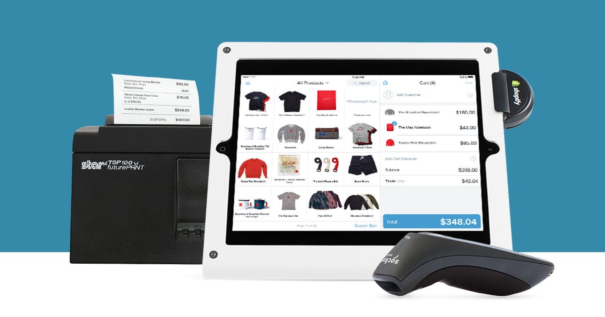 Make it easier to sell instore with Shopify POS retail