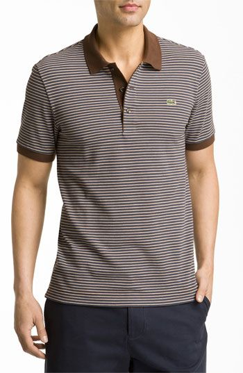 7beb3e7b Lacoste Stripe Polo | Nordstrom | Outfits for Him | Pinterest