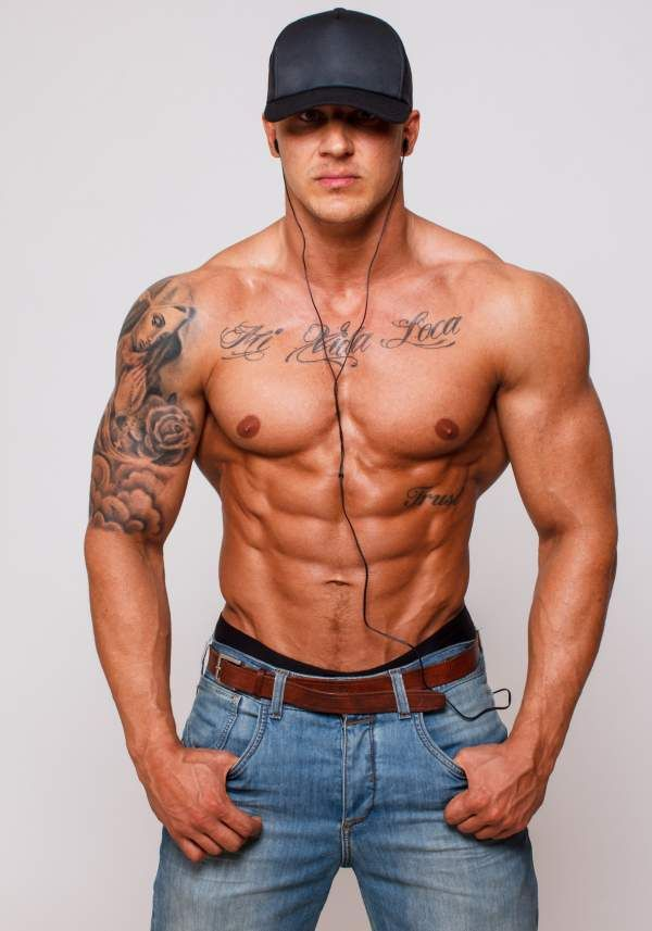 Sexy tattoos on men