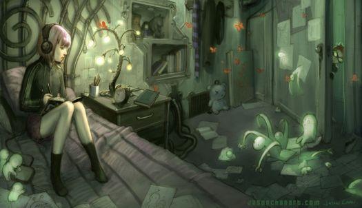 girl color by jason chan (144 pieces) | art | Art, Gothic art, Jason
