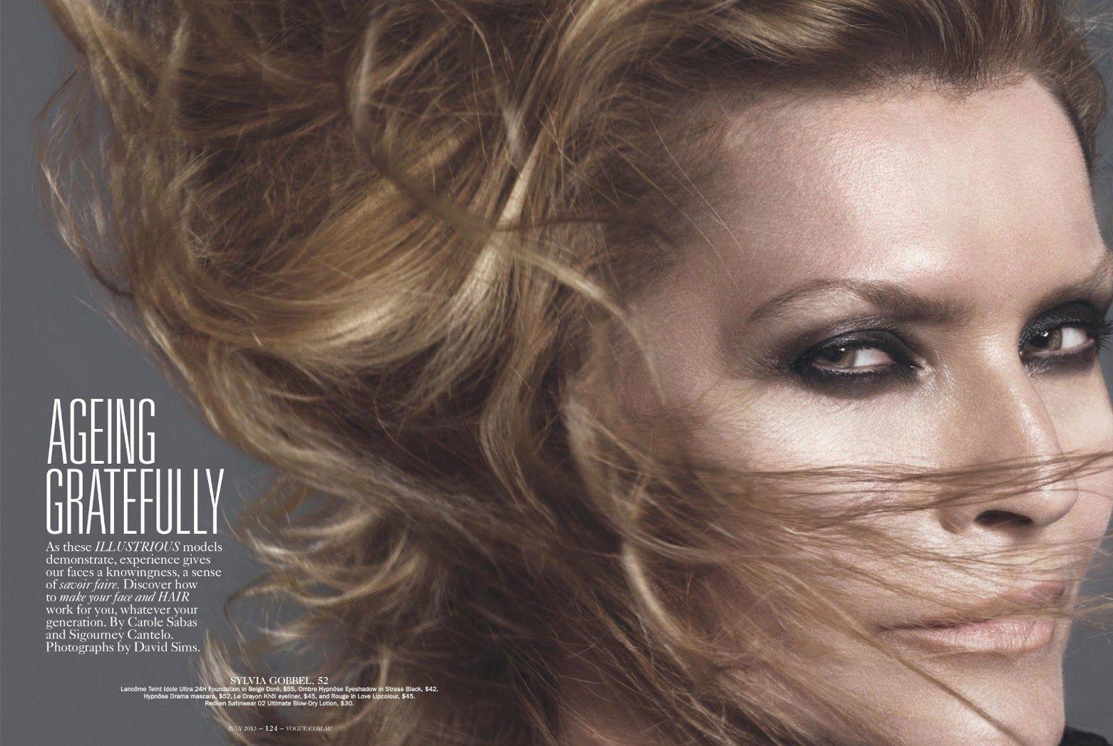 Vogue Australia July 2013  : Ageing Gratefully