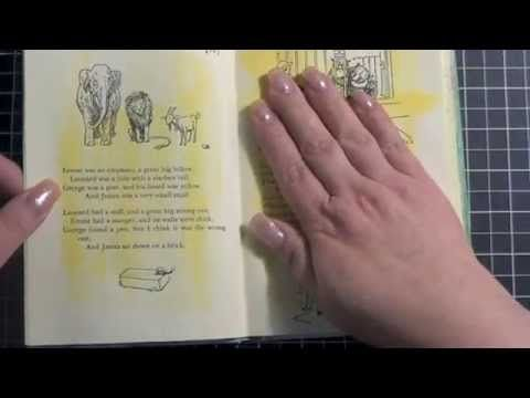 ▶ First Altered Book - Part 2 - YouTube