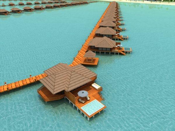The Singamatta Resort In Semporna Sabah Malaysia By Fariz Arif Via Behance Semporna Sabah Water Bungalow
