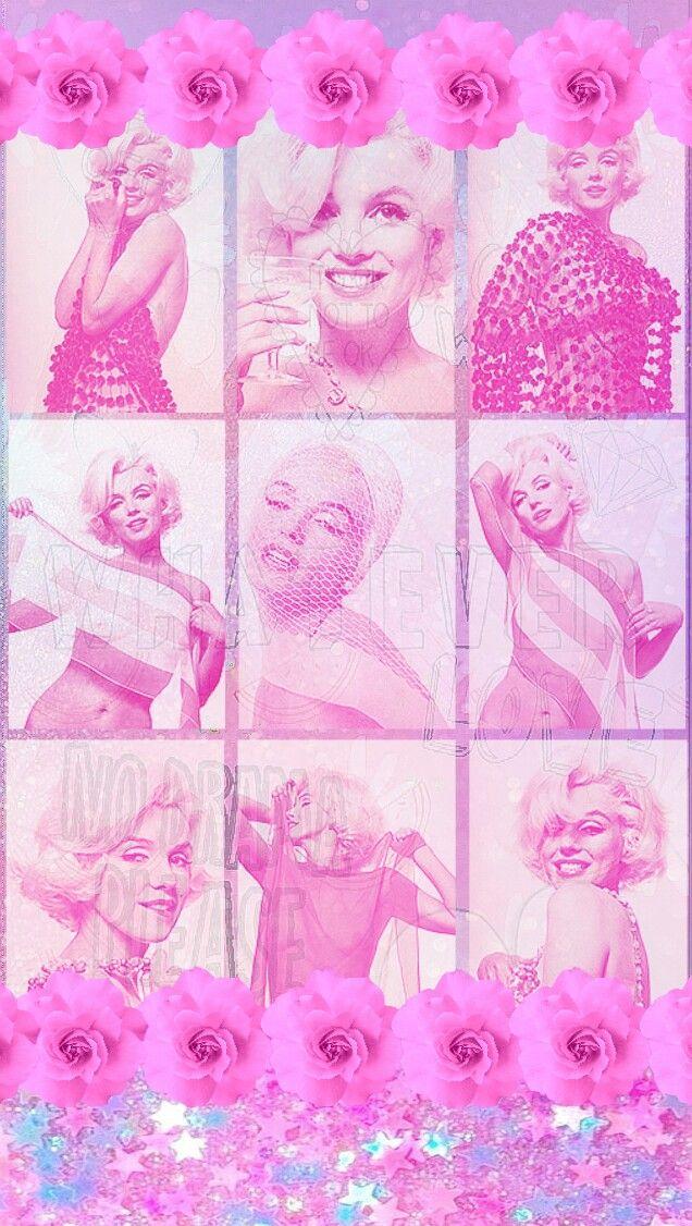 ꭵꮲhsnye ꮃallpapyerѕ Marilyn Monroe Wallpaper Mermaid