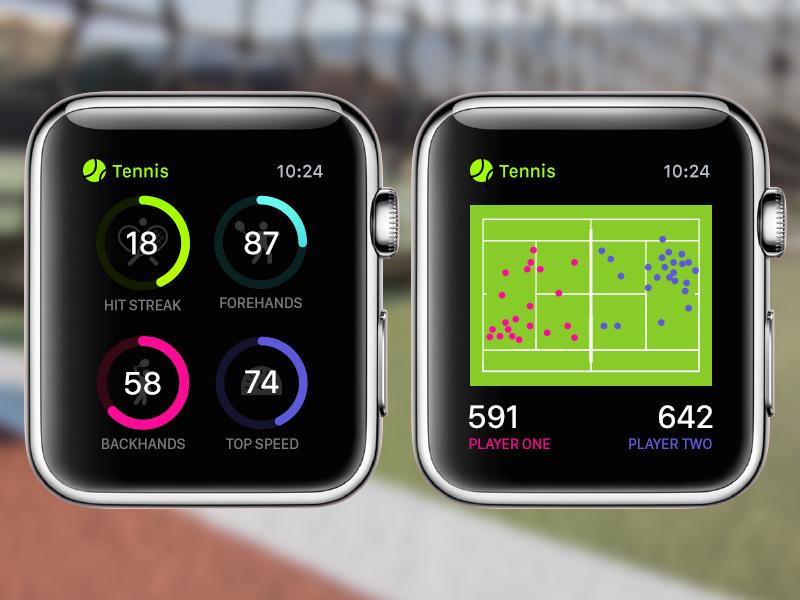 Apple Watch Tennis Pro Concept Apple watch, Apple watch