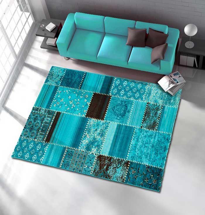 Bildergebnis für teppich weiß braun türkis   Wohnzimmer   Pinterest ...