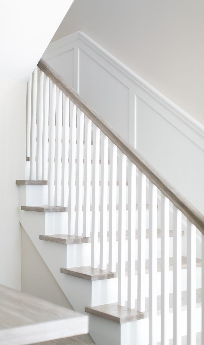 Best Staircase The Staircase Features A Clean Neutral Look 400 x 300