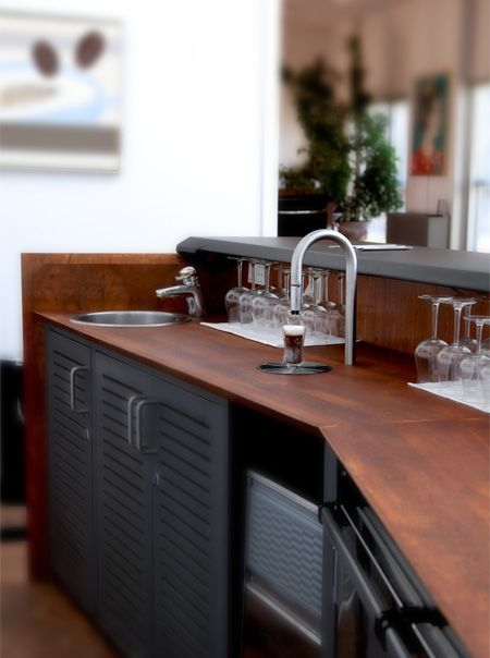 The best faucet since... sinks! Dispenses perfect coffee and looks beauty. Check the video