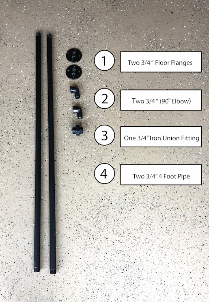 How To Make A DIY Industrial Pipe Curtain Rod