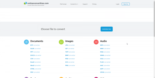 Onlineconvertfree Com Supports 1500 Types Of File Conversion