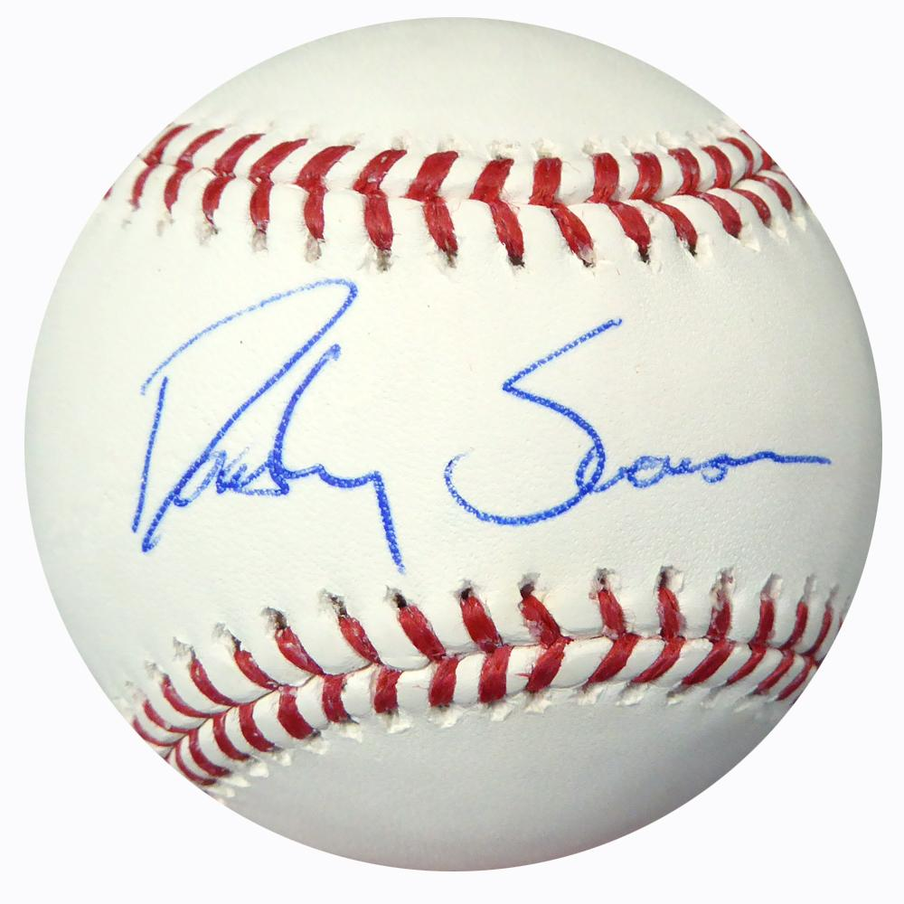 Dansby Swanson Autographed Official Mlb Baseball Atlanta Braves Dansby Swanson Atlanta Braves