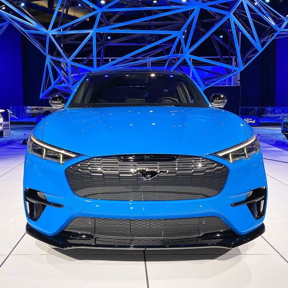 2021 Mustang Mach E Full electric SUV in 2020 Mustang