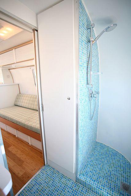 1972 Airstream Tradewind Airstream Bathroom Airstream Interior Rv Bathroom