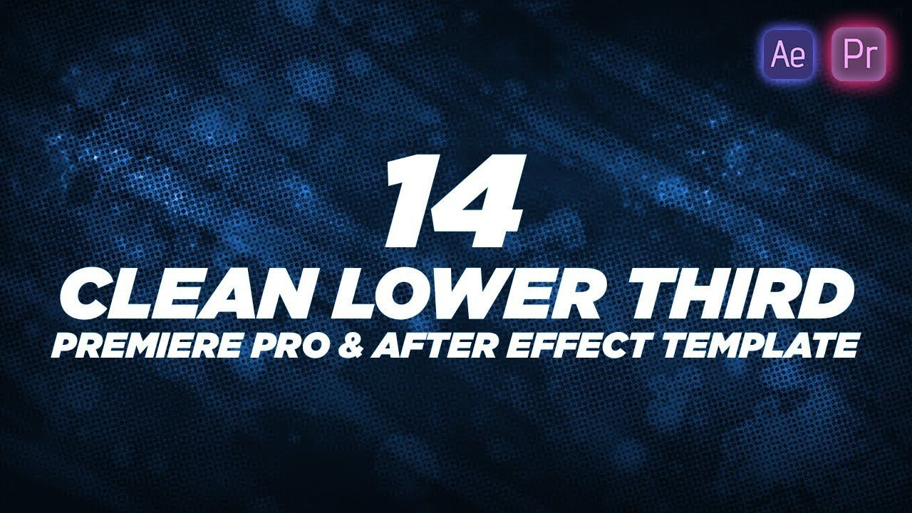 14 Clean Lower Third Free Download Premiere Pro Premiere