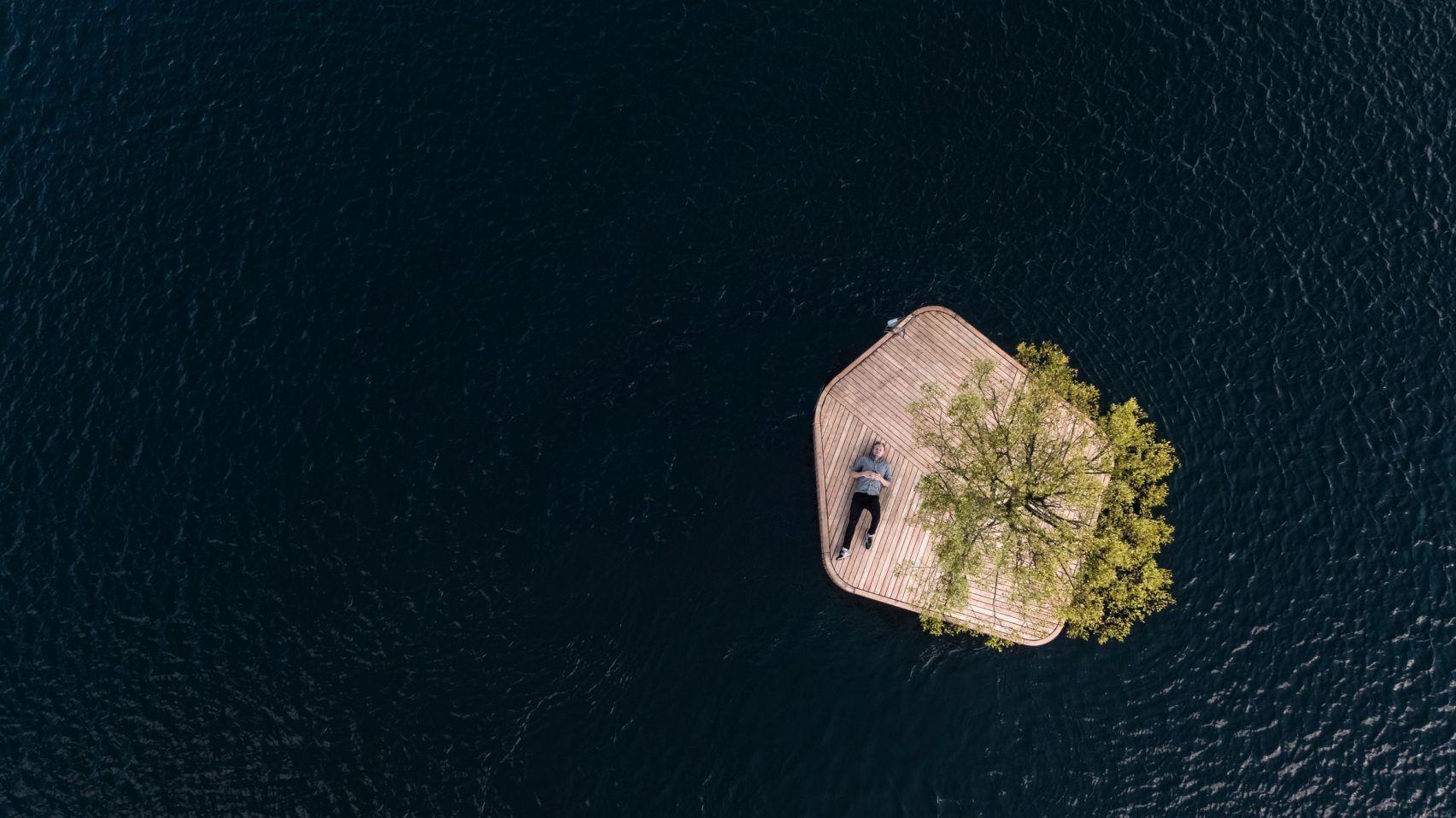 Marshall Blecher And Magnus Maarbjerg Copenhagen Floating Island Artificial Island Floating Architecture Copenhagen