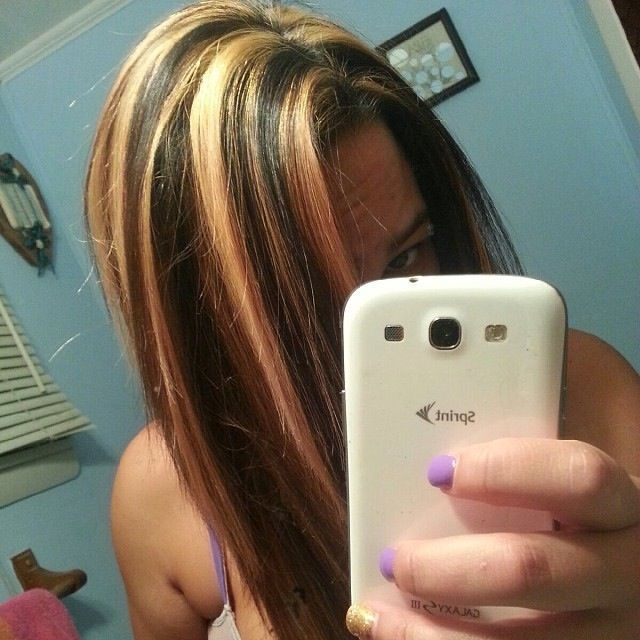 Black hair with caramel highlights yahoo image search results black hair with caramel highlights yahoo image search results pmusecretfo Images