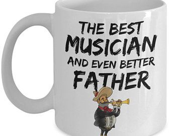136a6962 TRUMPETER DAD GIFT Musician Dad Gift Trumpet Player Gift Trumpeter Mug  Trumpet Lover Gift for Musician Funny Trumpeter Coffee Mug Musician! I love  it!