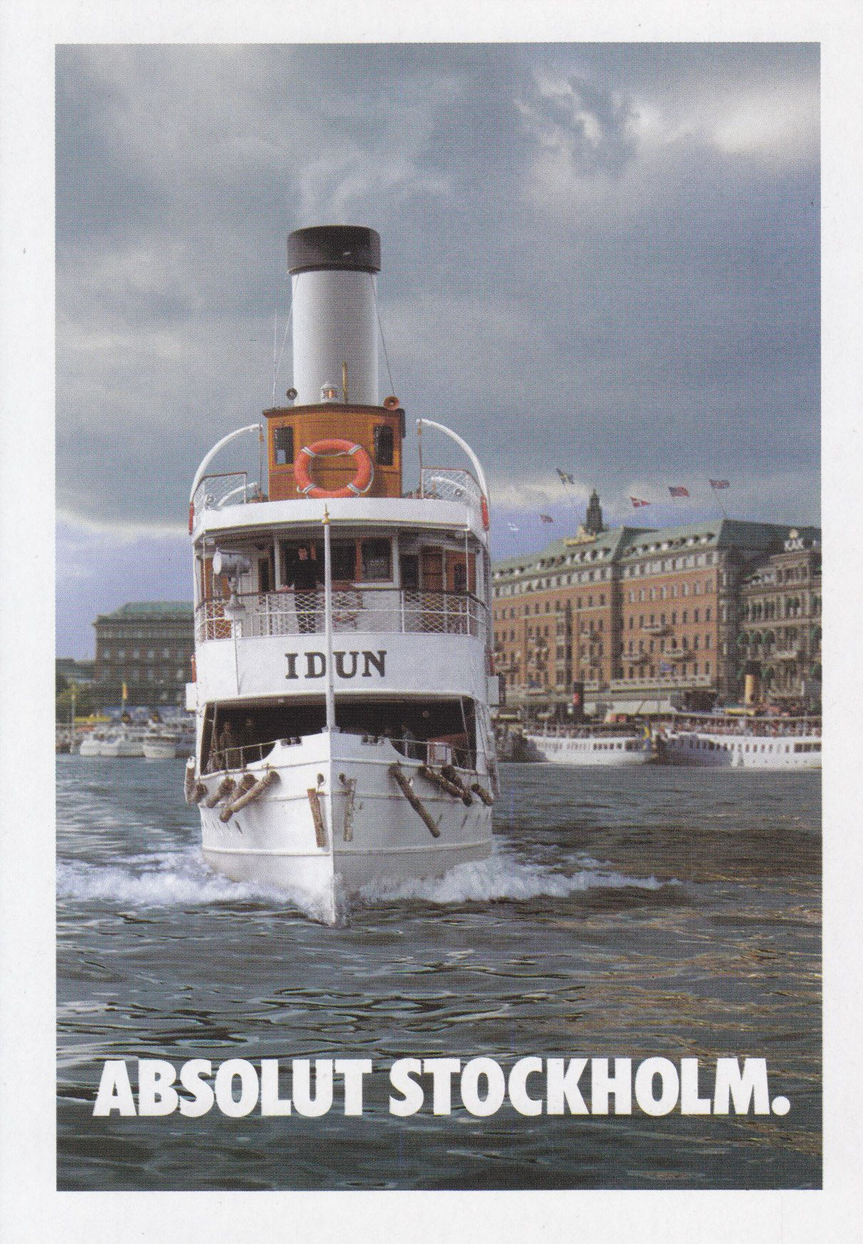 Absolut Stockholm - # 227 - Promocard - Italy - # 3.952