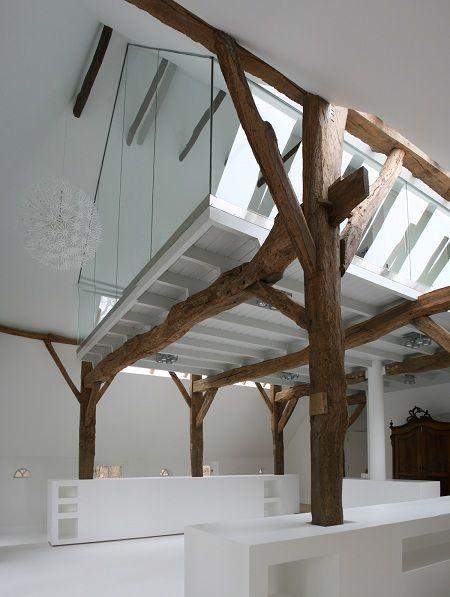 Nep houten balken op pinterest - Houten balkenplafond ...