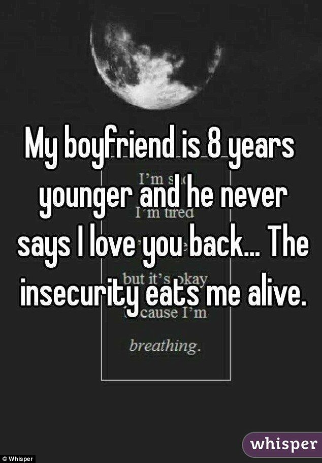 im dating younger man