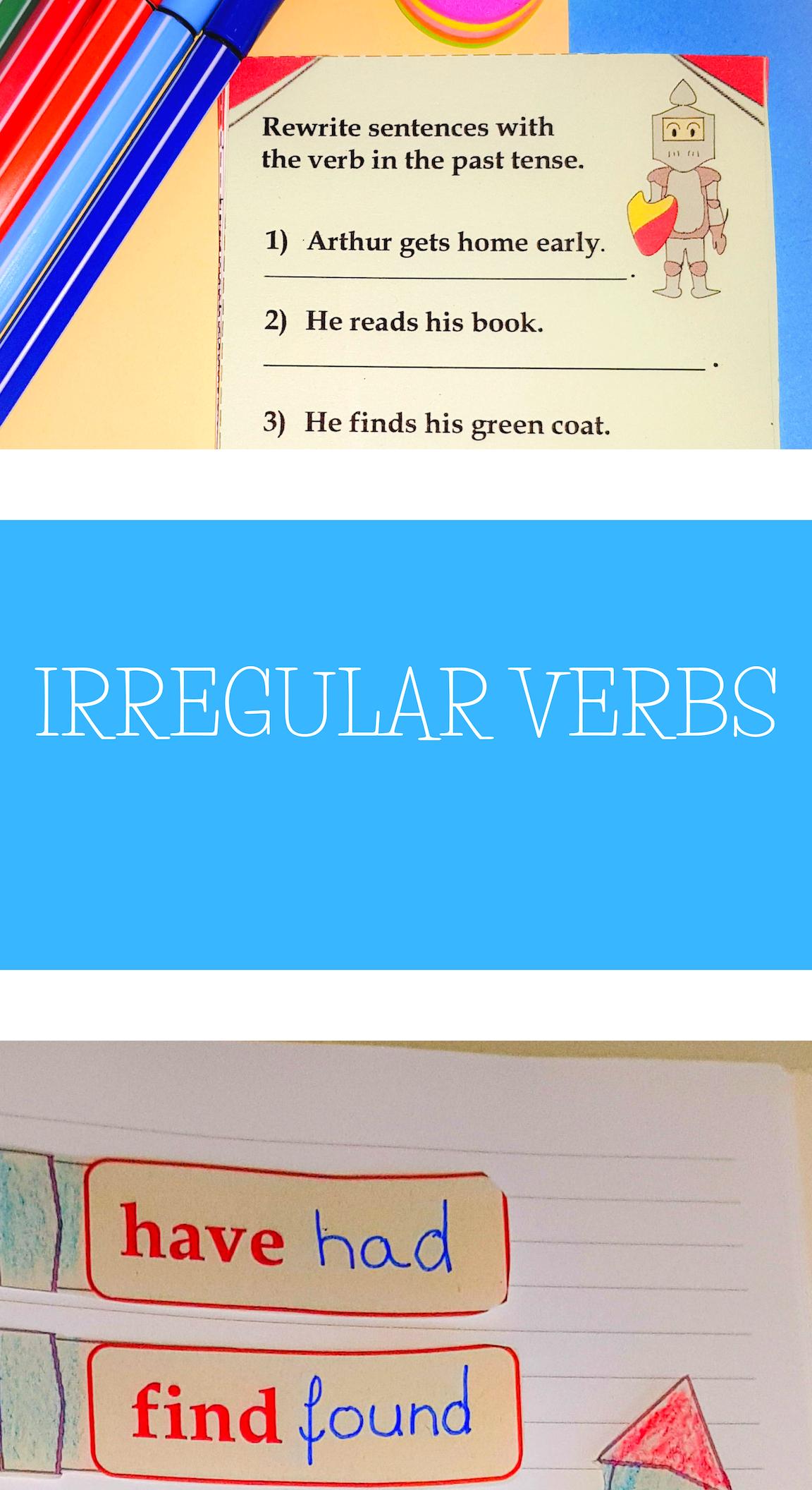 Irregular And Regular Past Tense Verbs Worksheets And Interactive Notebook Grammar Interactive Notebook Regular Past Tense Verbs Regular And Irregular Verbs [ 2112 x 1152 Pixel ]