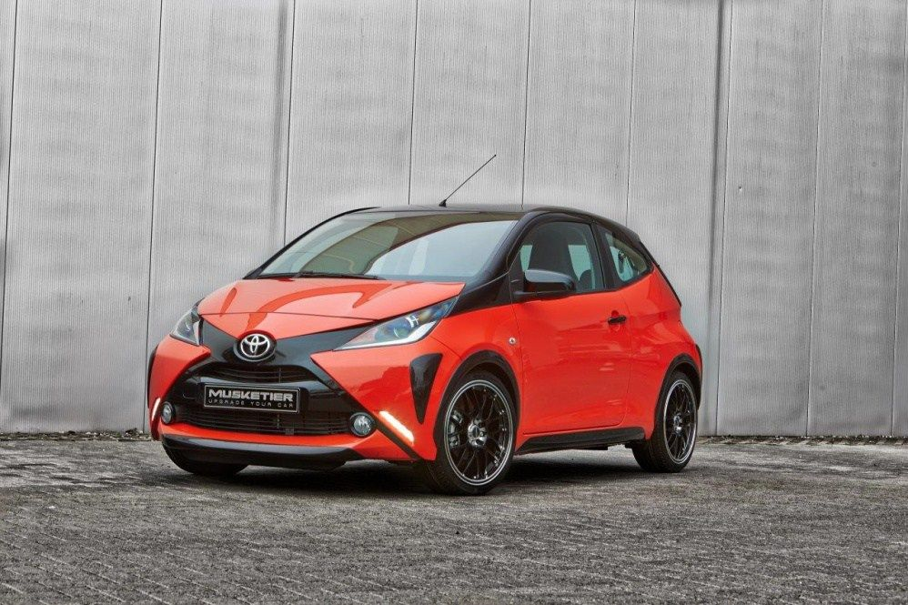 Toyota Aygo By Musketier Sports Car Substance