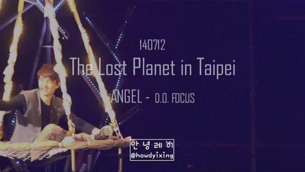 뚜뚜♨ギョギョギョンス\(◉♡◉)/DOさんはTwitterを使っています。140712 TLP in Taipei.「 ANGEL」 2年前のギョンスは、こうして空中から ぶら下げられたザルに乗っていた訳ですが… 座り方!表情!楽しそうな印象が👍✨ また、見たいですね😭경수야~!👋◉♡◉👋💓 https://t.co/cJkSlt50oy