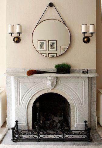 Round Reflections Circular Wall Mirrors Fireplace Mirror Mirror Wall Living Room Mirror Wall Bedroom