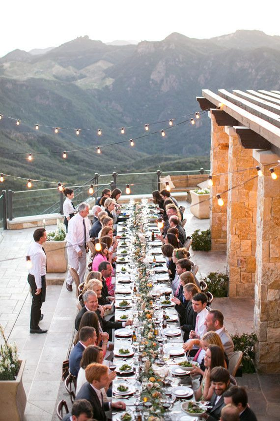 Malibu Rocky Oaks Wedding Reception