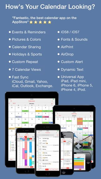 Pocketlife Calendar By Ovalkey Ltd Best Calendar App Calendar App