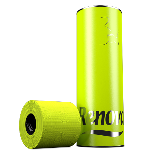 Green Toilet Paper  - 25�0yellow and 75�0green: it's a lime green citric overdose!
