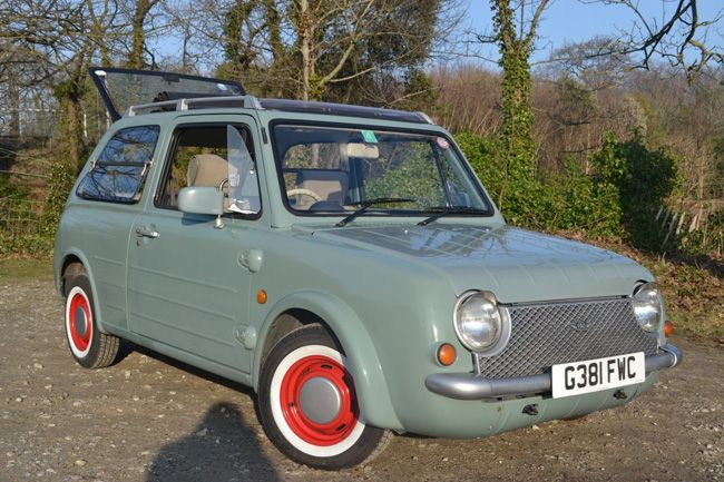 This wonderfully retro Nissan Pao is on eBay with a low bid price ...