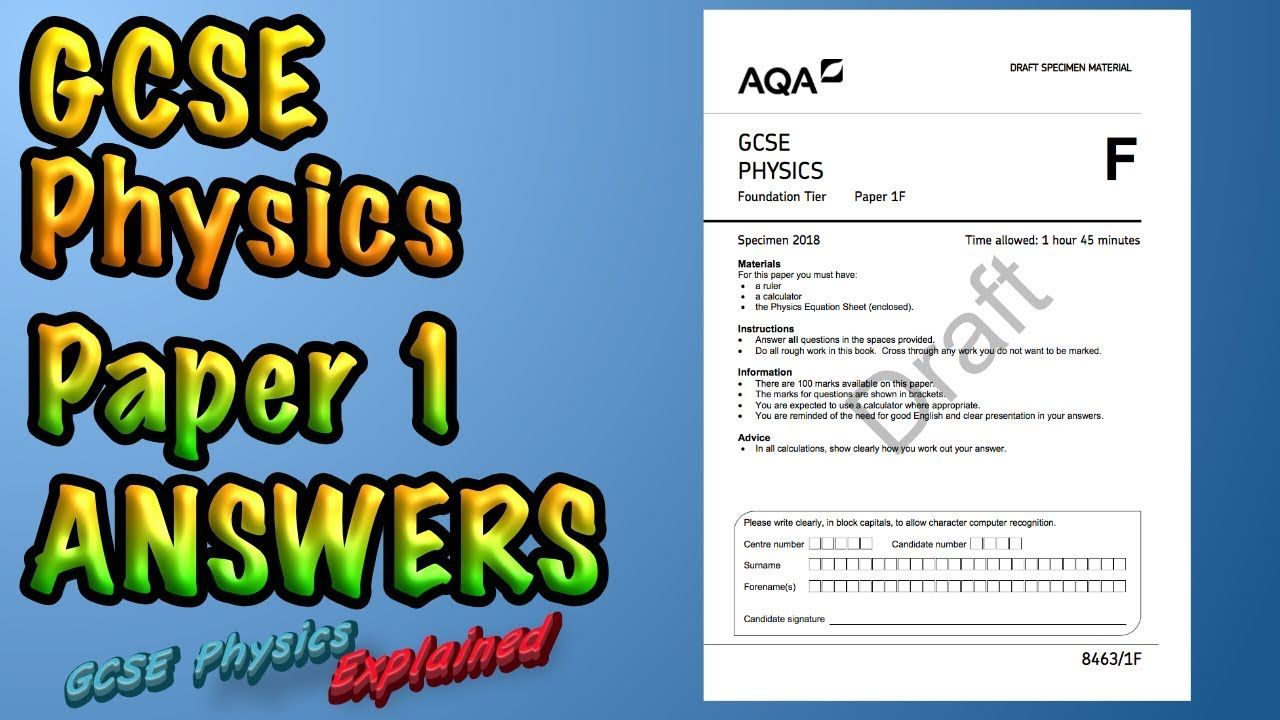 Gcse Physics Past Paper Answers And Explanations Some More Help For Physics Exams Going Over Past Paper Answers Are Gcse Physics Physics Physics Past Papers [ 720 x 1280 Pixel ]