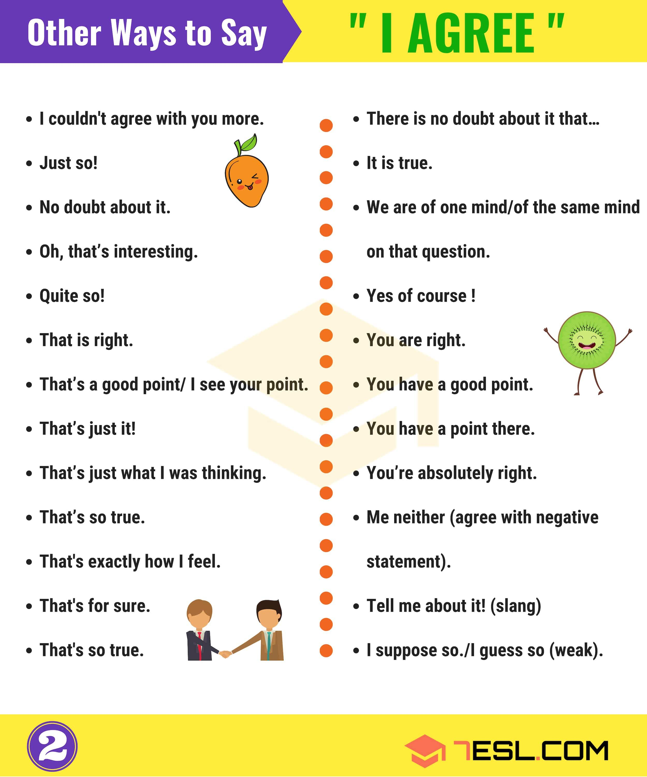 How to Express AGREEMENT and DISAGREEMENT in English   Good grammar. Learn english. English vocabulary