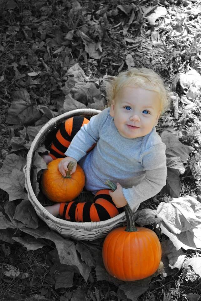 Fall baby photos, Halloween baby pictures By ABC Littles Photography,  #ABC #baby #Fall #Hall... #fallmilkbathbaby