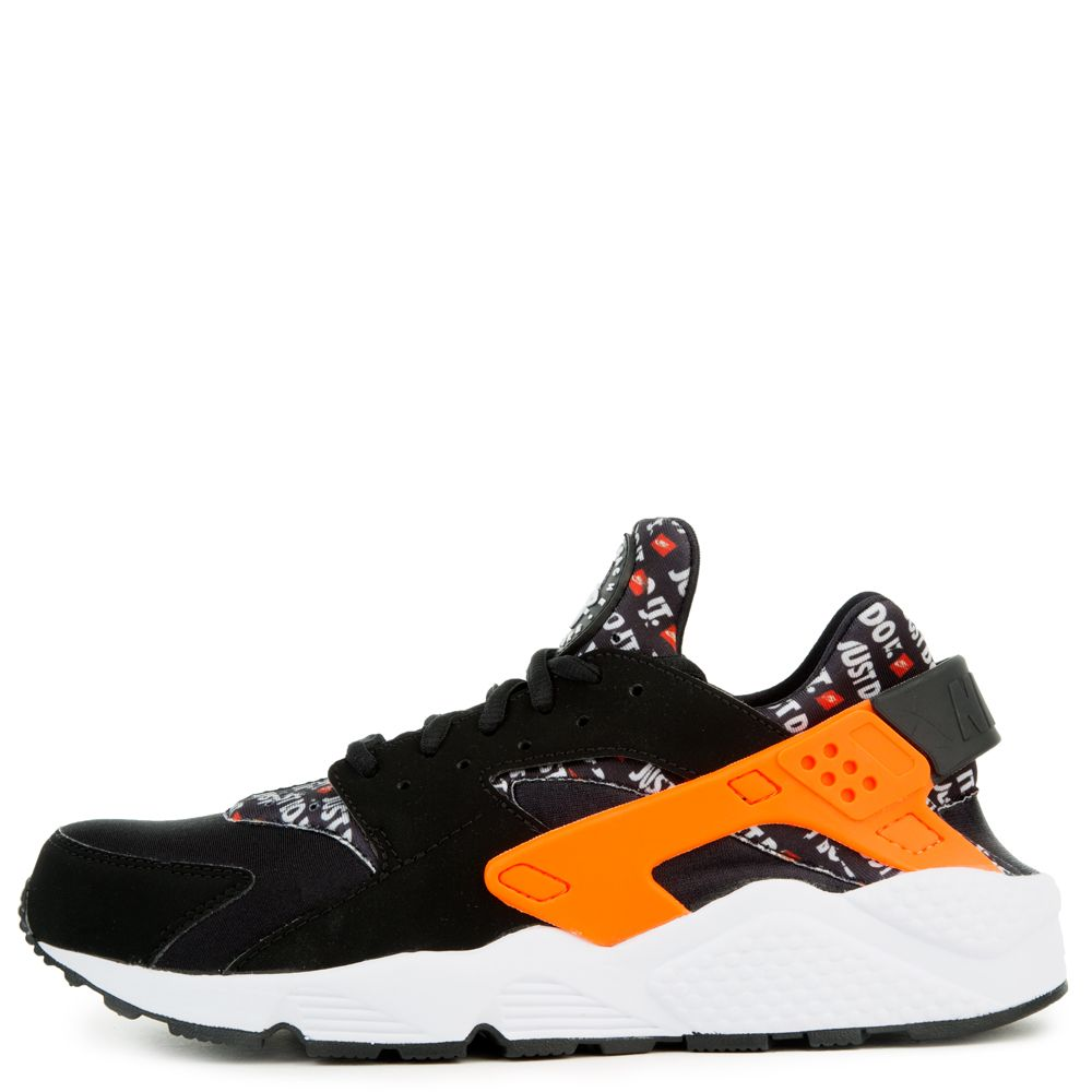 big sale 2f6b5 cc718 Nike Men s Nike Air Huarache Run Black total Orange-white