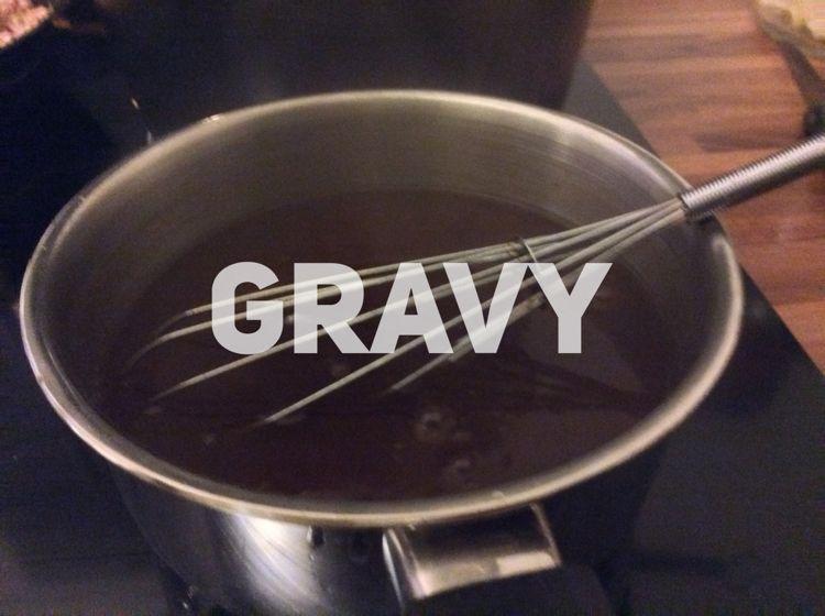 Gravy c'est anglais