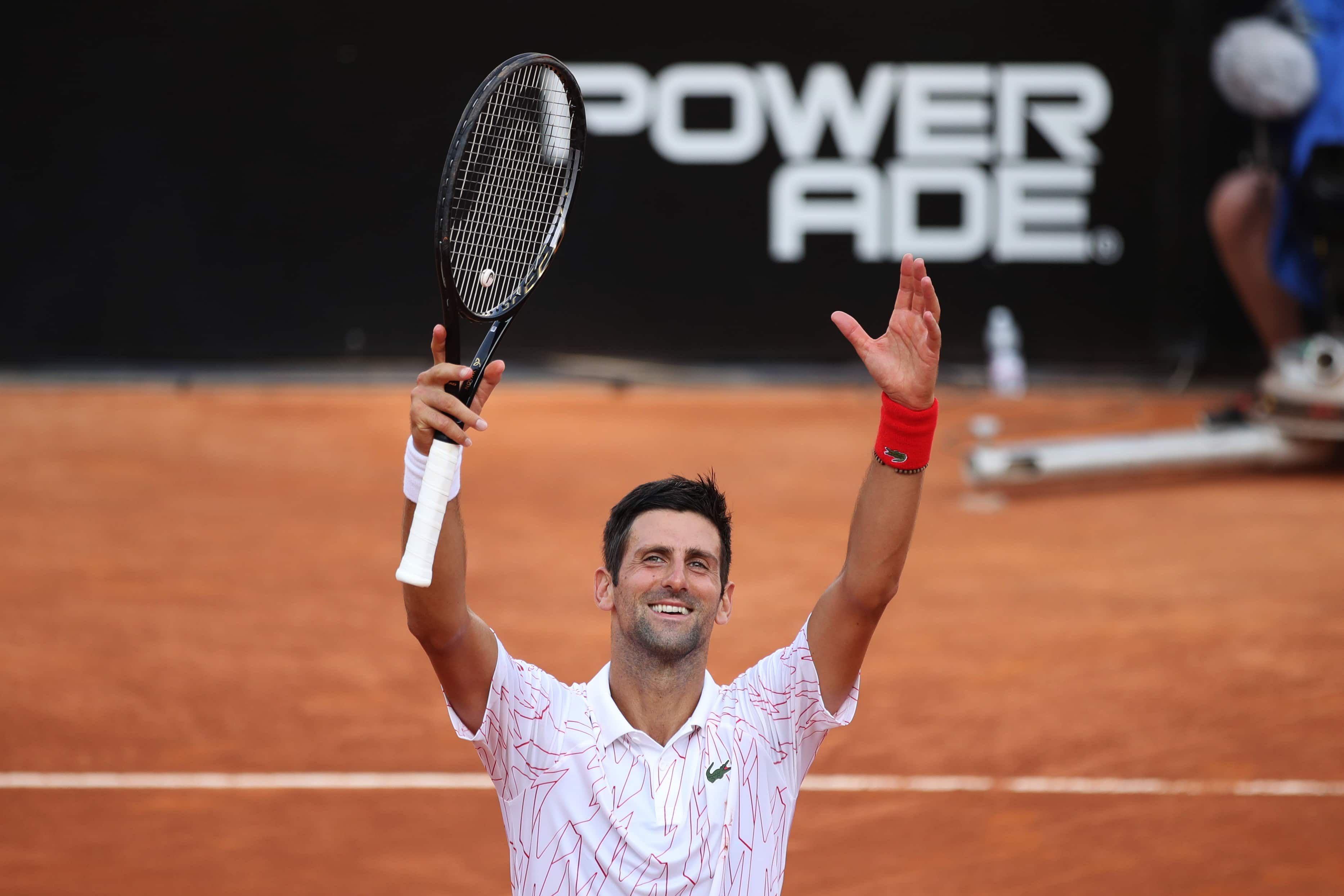 Novak Djokovic Finalista Del Masters 1000 De Roma El Numero Uno Del Mundo Derroto Por 7 5 Y 6 3 Al Noruego Casper Ruud 34 Y Manana F