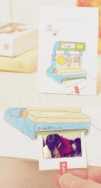 polaroid kamera karte einladungskarten party deko selber machen geschenkideen und. Black Bedroom Furniture Sets. Home Design Ideas