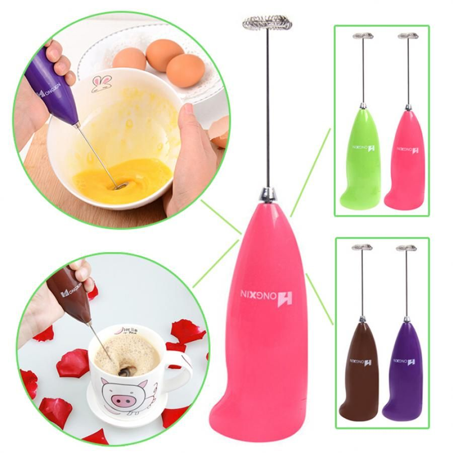 Battery Operated Handheld Beater Mixer For Milk Coffee Li And Egg