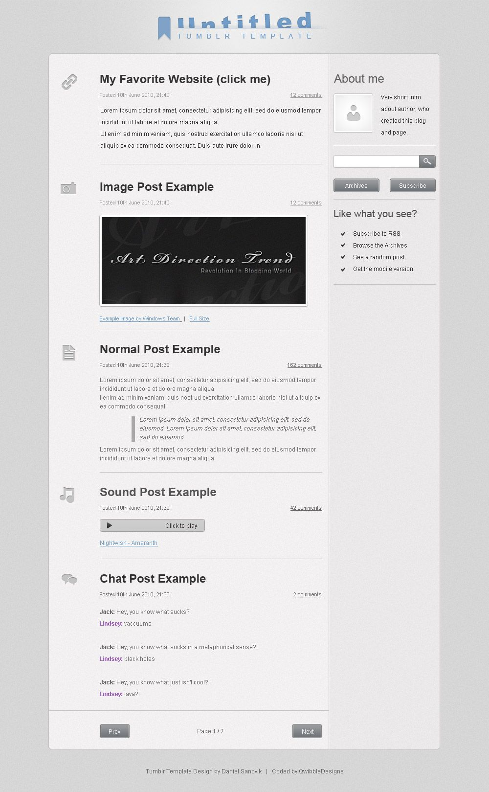How to Create a Tumblr Theme (Code Structure) Tumblr