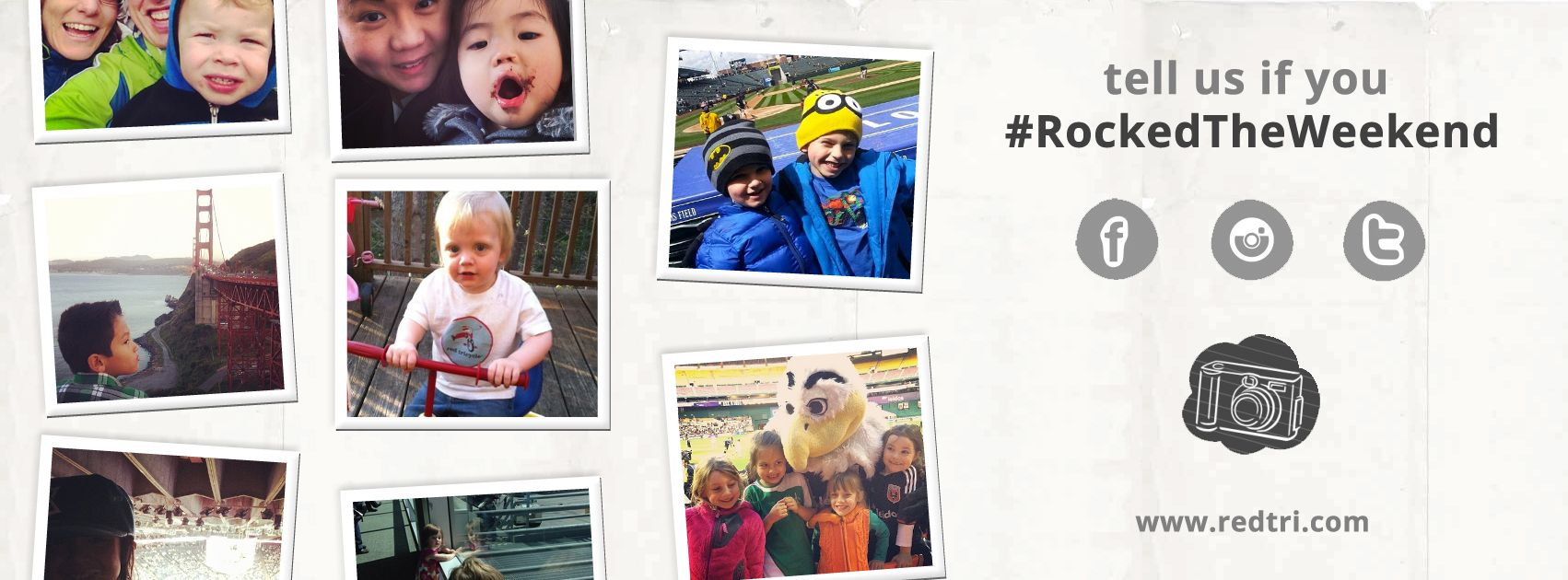 See Who #RockedTheWeekend (4/4-4/6)  http://redtri.co/1gJk92d  Want to join in the fun? Share your photos with us on Facebook, Instagram, or Twitter using the hashtag #rockedtheweekend.