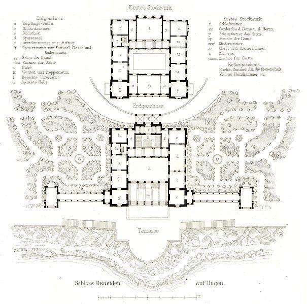 file schloss dwasieden grundriss floor plans castles palaces pinterest. Black Bedroom Furniture Sets. Home Design Ideas