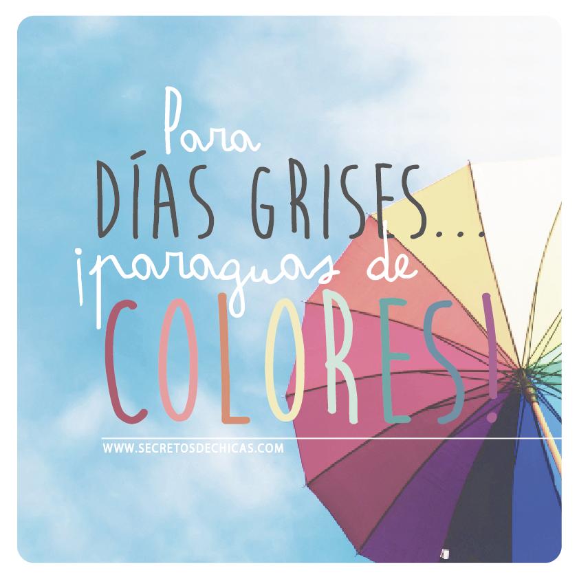 Para Dias Grises Paraguas De Colores Imagen Inspiration