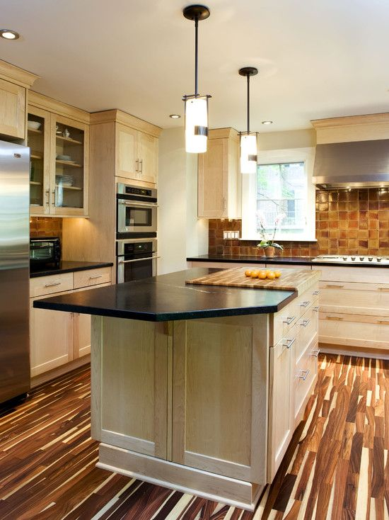 Wonderful Light Maple Kitchen Cabinets For Your Home ...