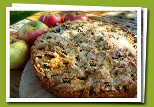 Dorset Apple Cake from the Clipper website