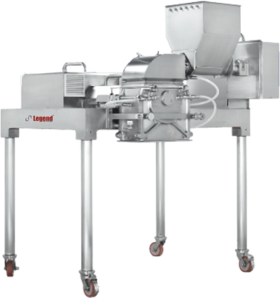 Legend pharma Technologies Comminuting mill specifically designed for wet and dry granulation, Pulverization or dispersion of products or ingredients found in the pharma machineries, Chemical and food industries.